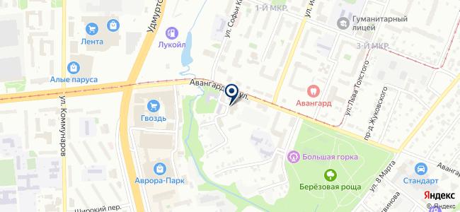 Виртус Урал, ООО на карте