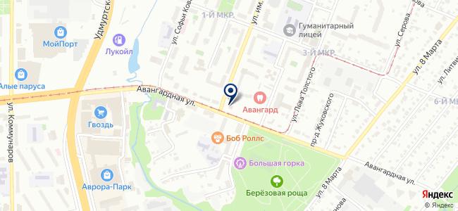 Квартирный Вопрос, ООО на карте