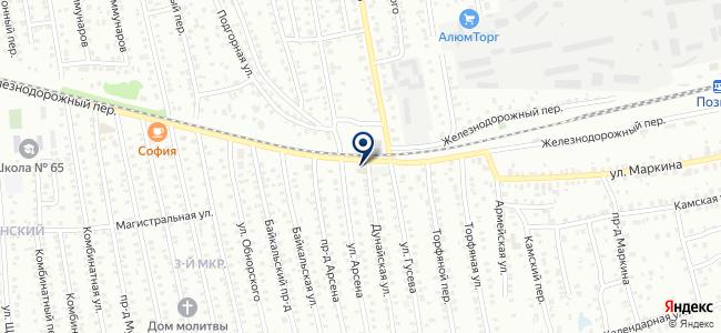 Эркон на карте