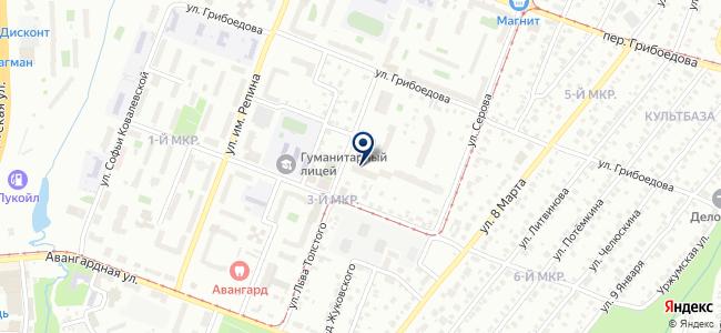 Юнит, ООО на карте