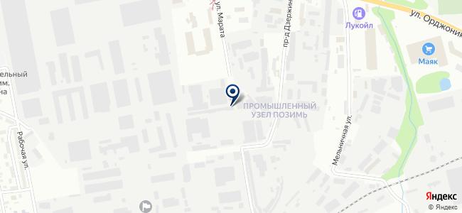 ИжТЭП, ЗАО на карте