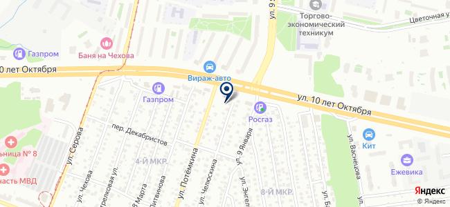 ИжТорг на карте