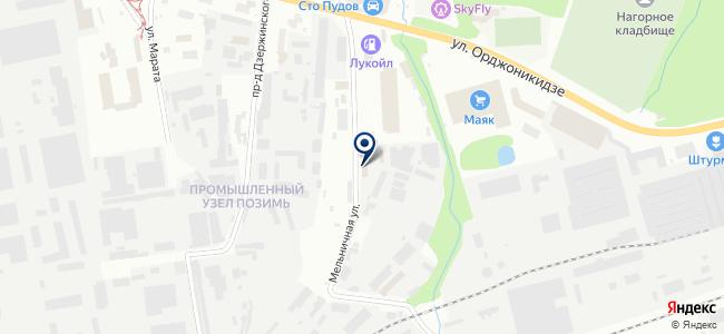 Арт-Линк на карте