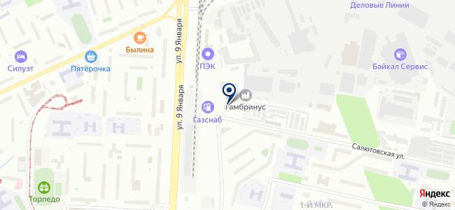 Региональный геоинформационный центр на карте