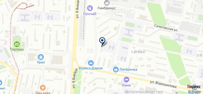Регионэлектрокомплект, ЗАО на карте
