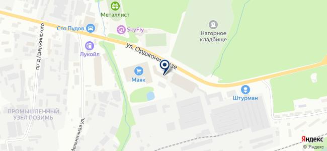 ИжТехКомплект на карте