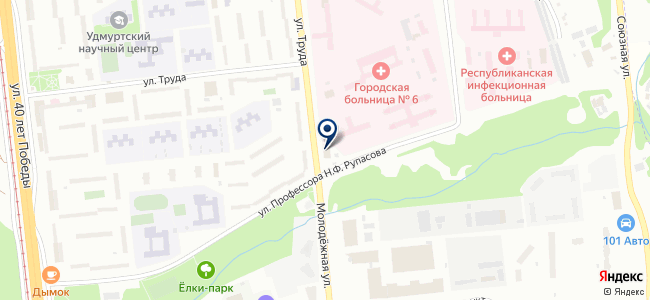 Троллейбусная диспетчерская служба на карте