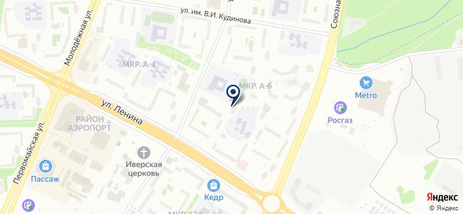 ИнфоТекс Интернет Траст на карте