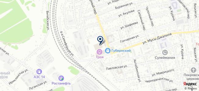 ORENLED на карте