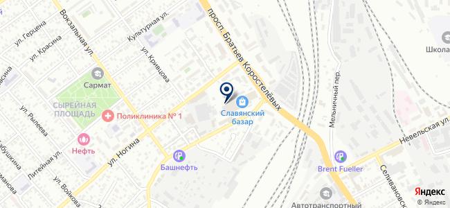 ТЭН56 на карте