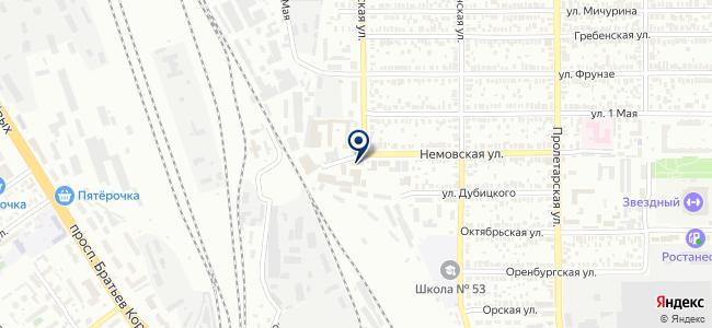 Оренбургский удостоверяющий центр, ООО на карте