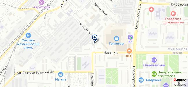Промавтоматика на карте