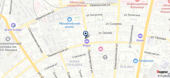 Инструментальная кладовая на карте