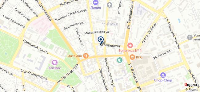 Оренбургкомпроект, ООО на карте