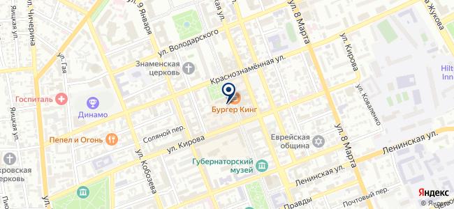 В Контакте, ООО на карте