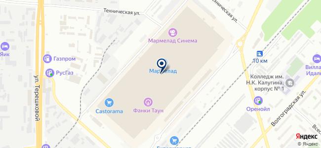 ЛЕО на карте