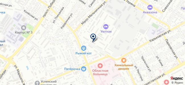 Оренбургторгинвест, ООО на карте