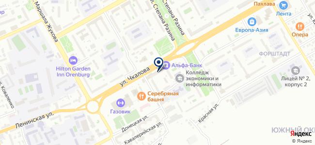 Ампир-Декор-Оренбург на карте