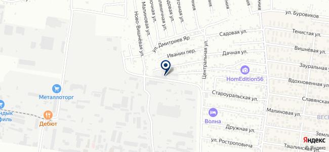 Урал-Резерв на карте