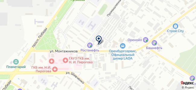 Инструмент, ООО на карте