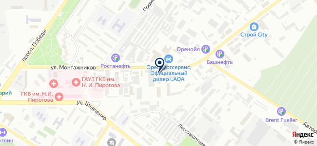 Промэлектро, ООО на карте