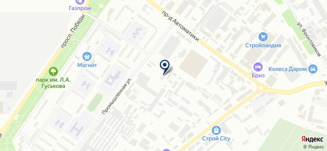 Гермес-Телеком на карте