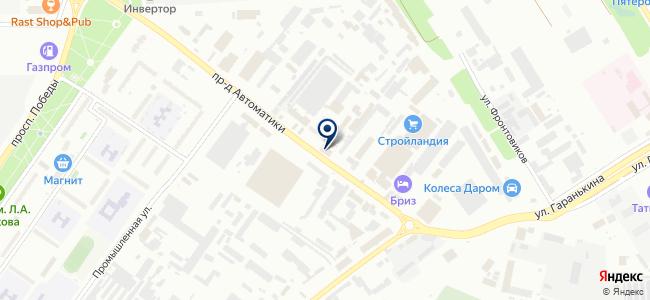 Мегаком, ООО на карте