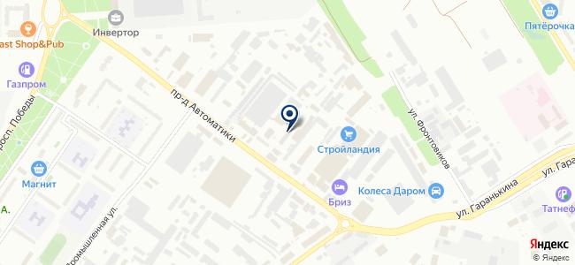 ОренЛайт, ООО на карте