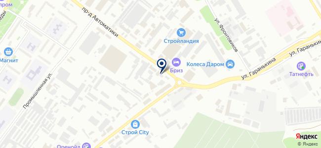 Технодром на карте