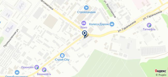 Уралмаркет на карте