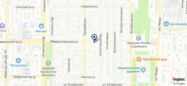 Ледлайт, ООО на карте