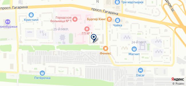 Магазин светодиодного освещения на карте