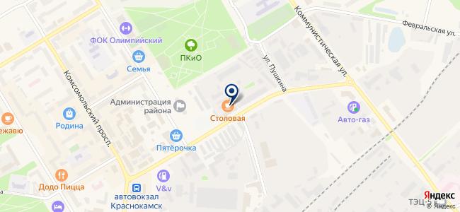 Пермгеокабель, ООО на карте
