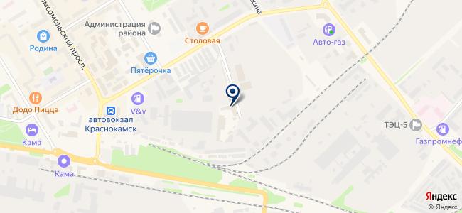 Сеть магазинов отделочных материалов на карте
