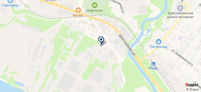 Эфранта на карте