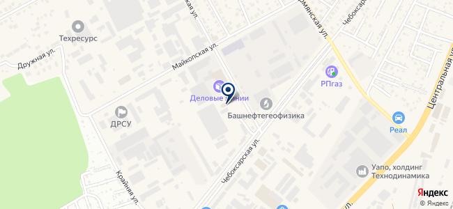 Инзер-Инвест, ООО на карте