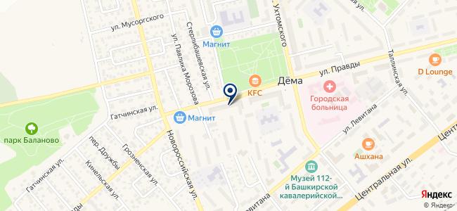 Инзер плюс, ООО на карте