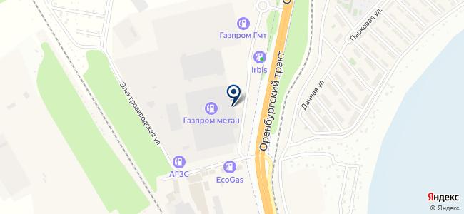 Уфимский трансформаторный завод на карте