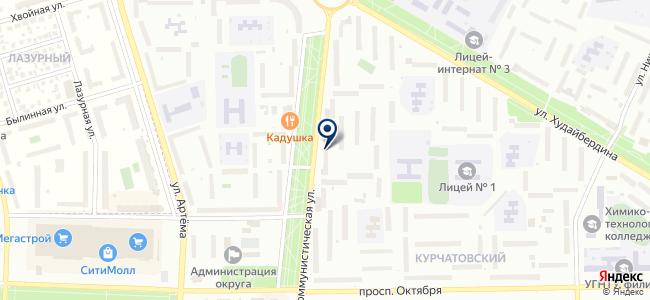 ЭлектроГрад на карте