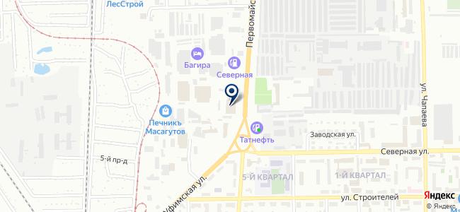 Антэл на карте