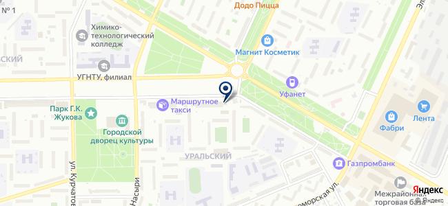 Элис на карте