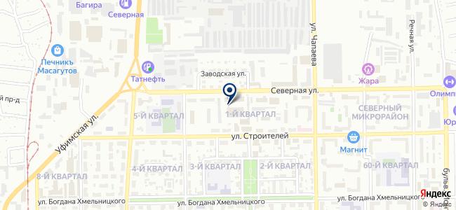 Синхрон, ООО на карте