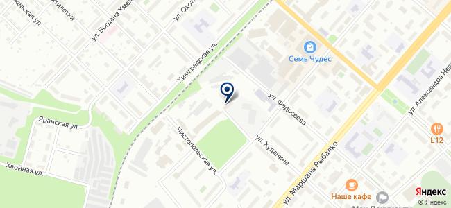 Рускаб на карте