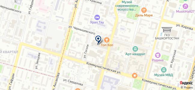 Прософт Уфа, ООО на карте