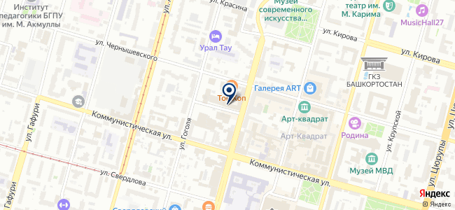 ИнфоТеКС Интернет Траст, ОАО на карте