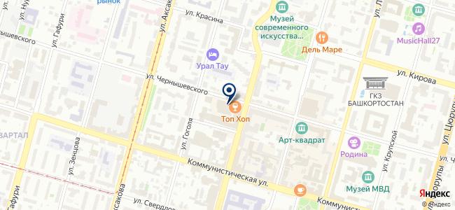 Центр отчетности-Уфа, ООО на карте