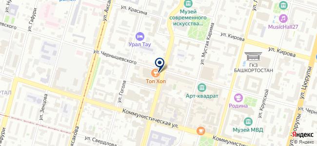 Системы информации и связи, ООО на карте