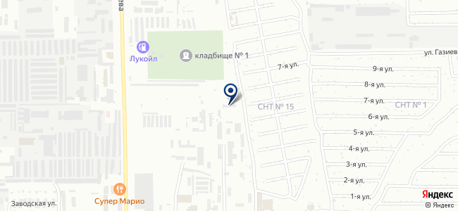 Магазин электроматериалов на карте