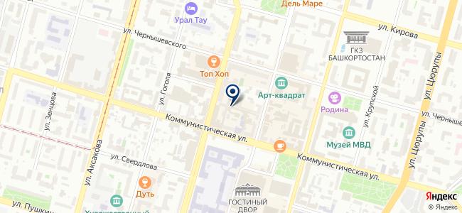 Центр школьной комплектации, ООО на карте