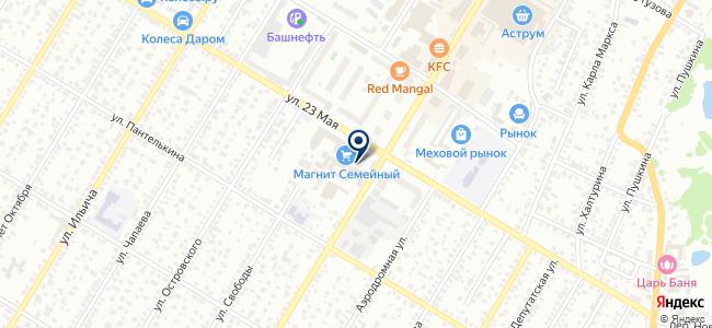 БашУниверсалСнаб, ООО на карте